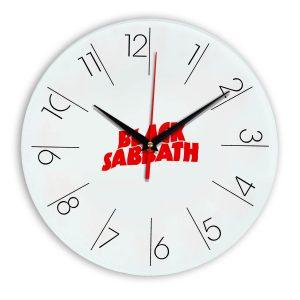 Black sabbath настенные часы 6
