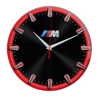 Настенные часы с рисками BMW M 06