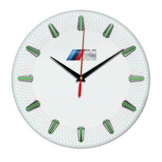 Настенные часы с эмблемой BMW M 07