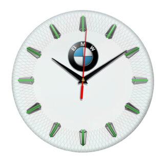 Настенные часы с эмблемой BMW 07