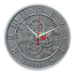 Bon jovi настенные часы 1