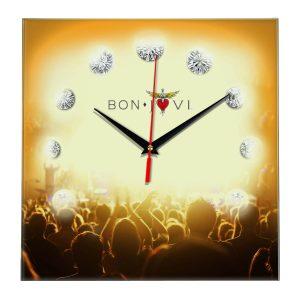Bon jovi настенные часы 12