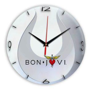 Bon jovi настенные часы 14