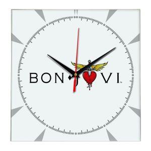 Bon jovi настенные часы 2