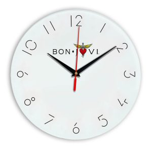 Bon jovi настенные часы 5