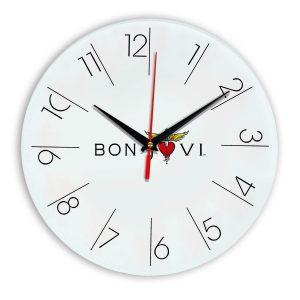 Bon jovi настенные часы 6