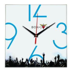 Bon jovi настенные часы 8