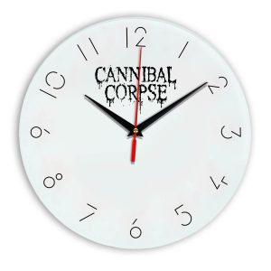 Cannibal corpse настенные часы 5