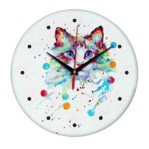 Сувенир – часы cats0074