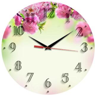 Настенные часы «Весеннее цветение»