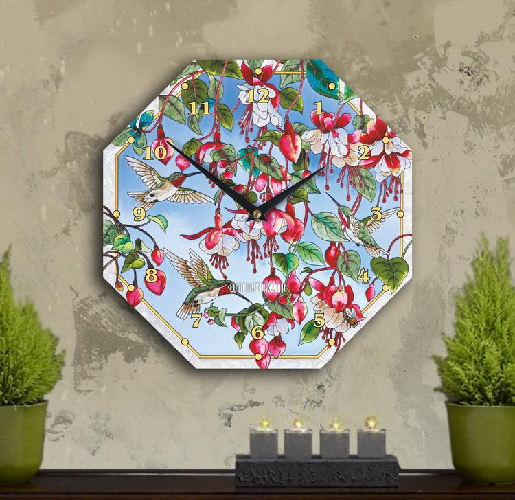 Настенные часы «сады Изиды»