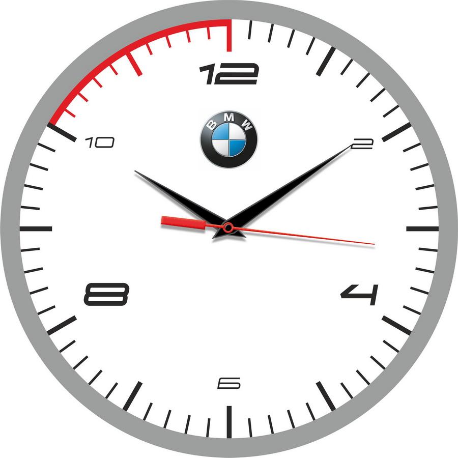 """часы настенные """"BMW сувенир"""""""
