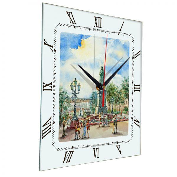 """Часы на стену """"Московский сквер"""""""