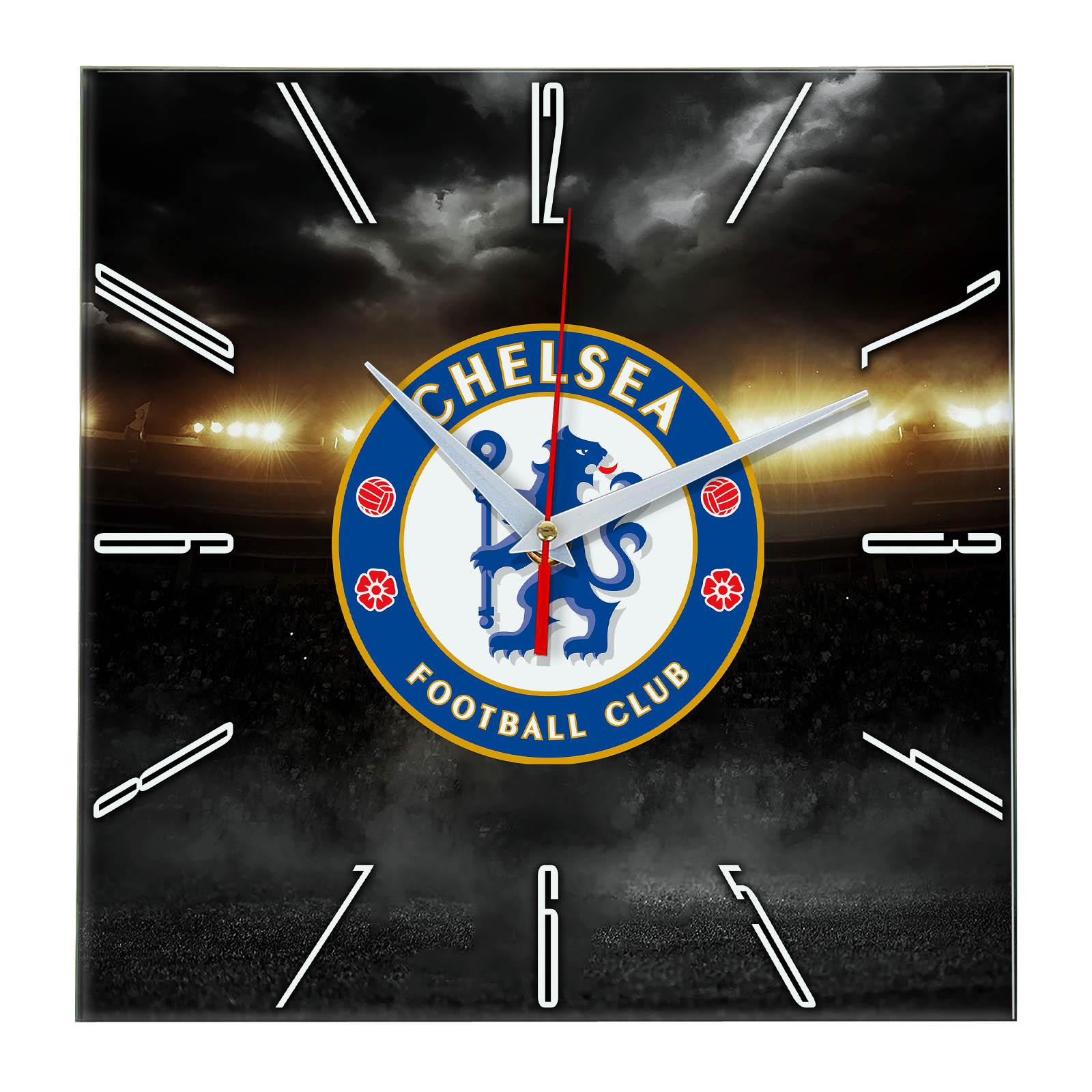 Настенные часы «В лучах славы CHELSEA»