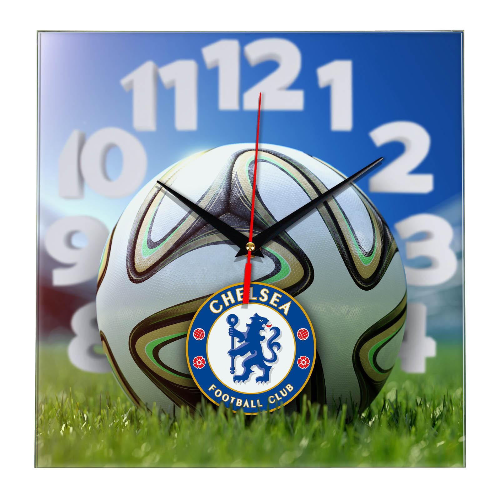 Настенные часы «На стадионе CHELSEA»