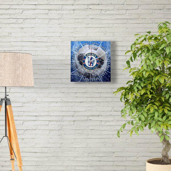 Настенные часы «Сувенир болельщиков CHELSEA»