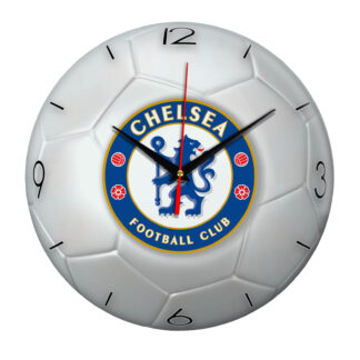 Настенные часы «Футбольный мяч CHELSEA»