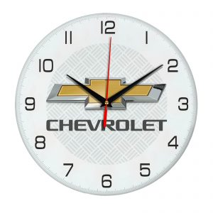 Сувенир – часы Chevrolet 05