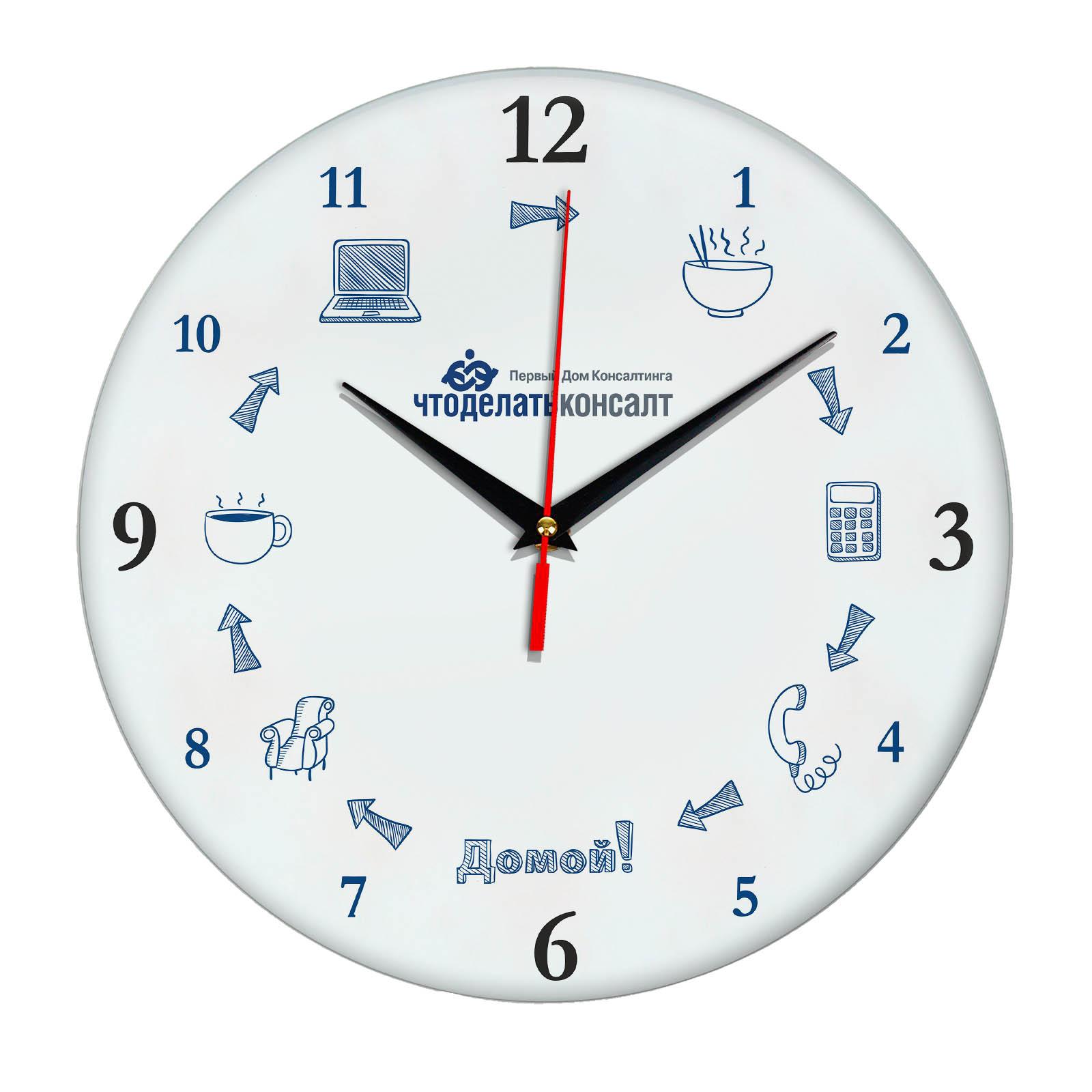 Настенные часы «chtodelatconsalt»