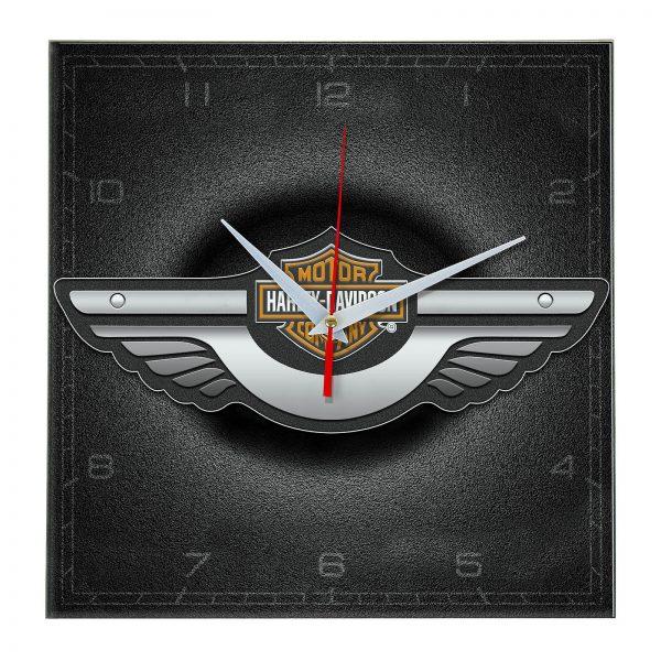 clock-Harley-Davidson