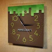 """Настенные часы """"Игра Майнкрафт"""""""