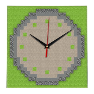 Настенные часы «Квадратный круг»