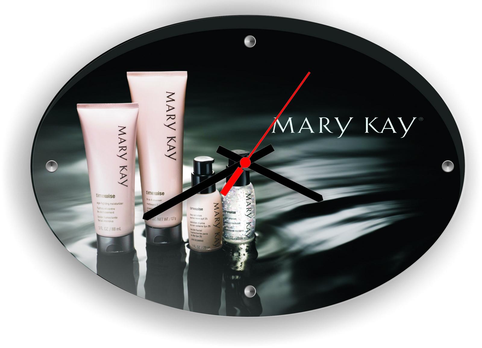 Часы с логотипом Mary Kay