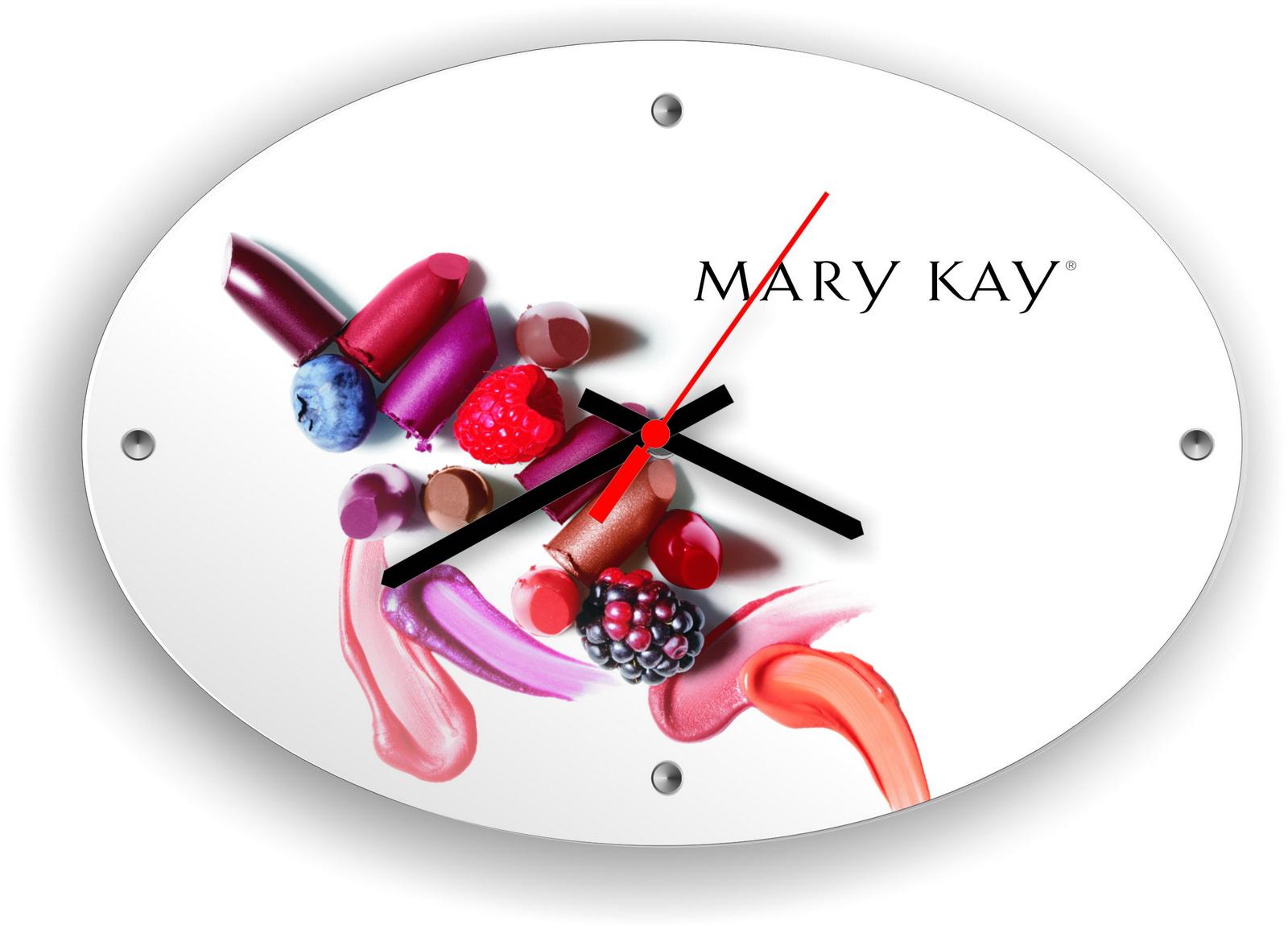 Часы настенные Mary Kay яркая жизнь