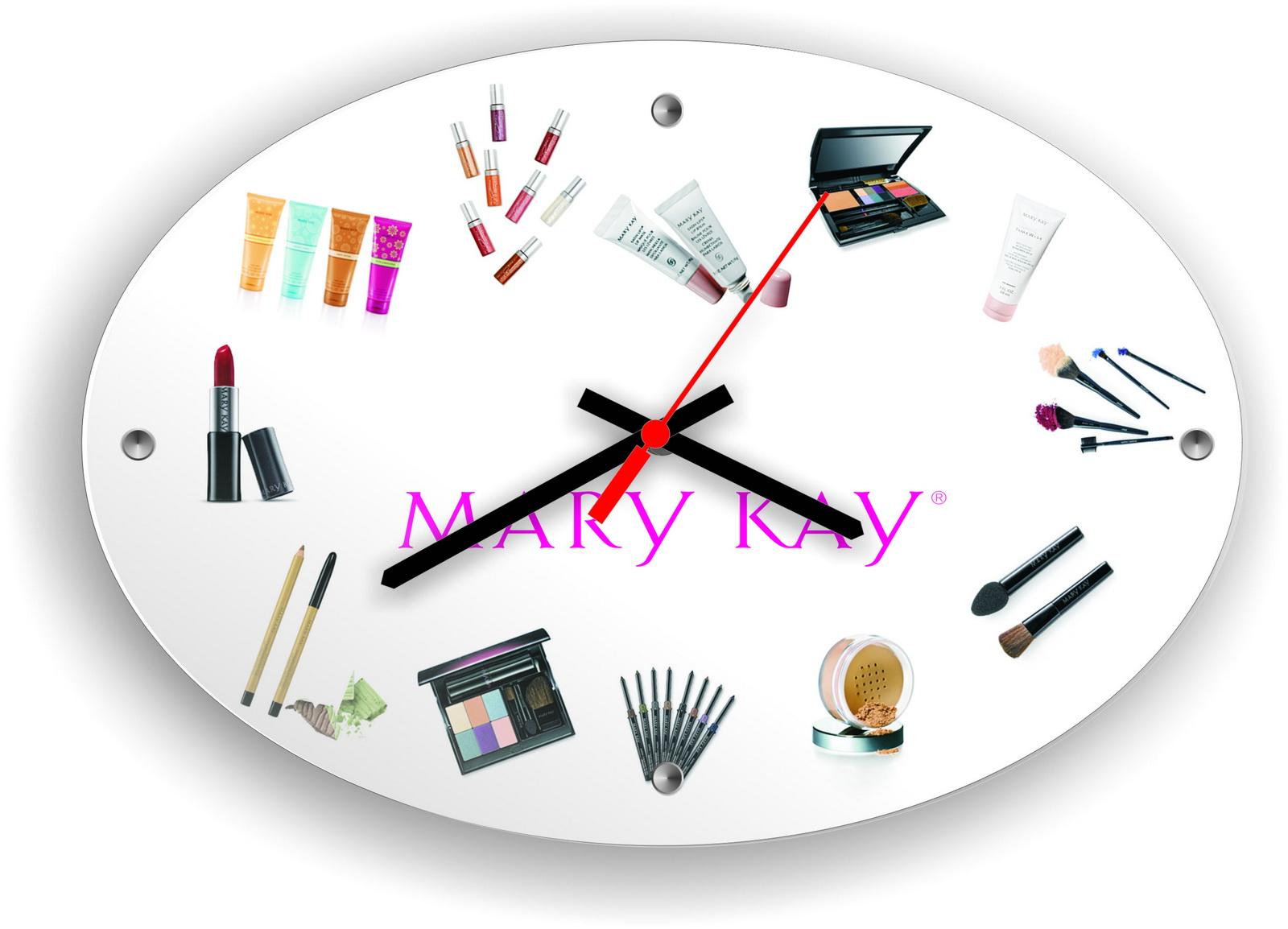Часы с символикой Mary Kay