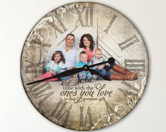 часы с фотографией индивидуальный дизайн 2