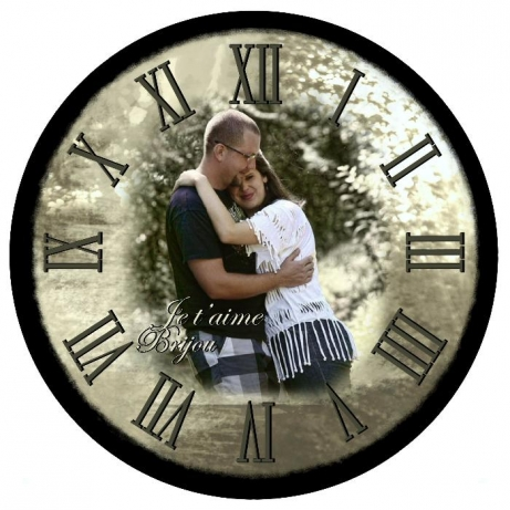 часы с фотографией индивидуальный дизайн 3