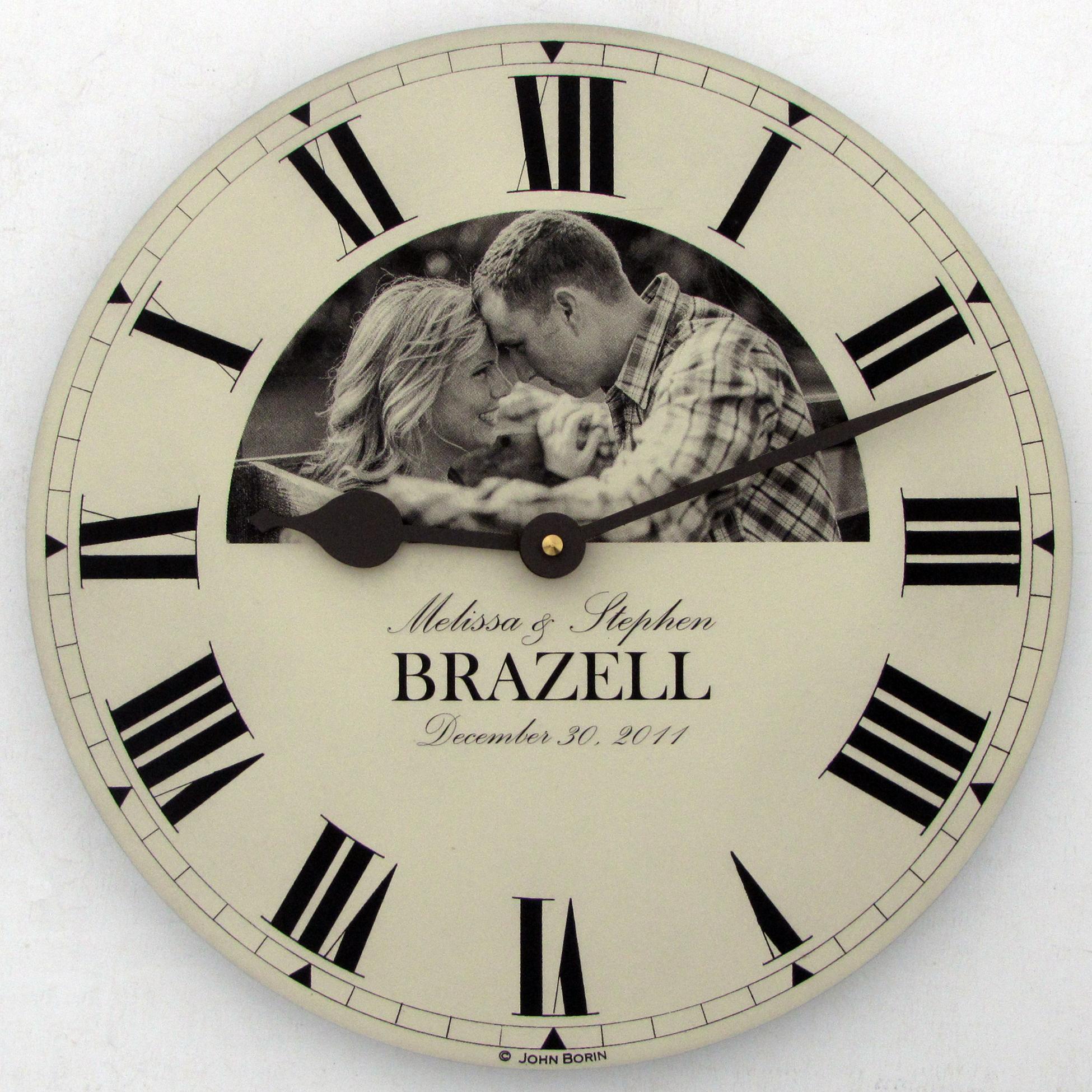 часы с фотографией индивидуальный дизайн Ретро