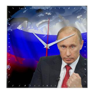 Настенные часы «Путин — угроз нет»