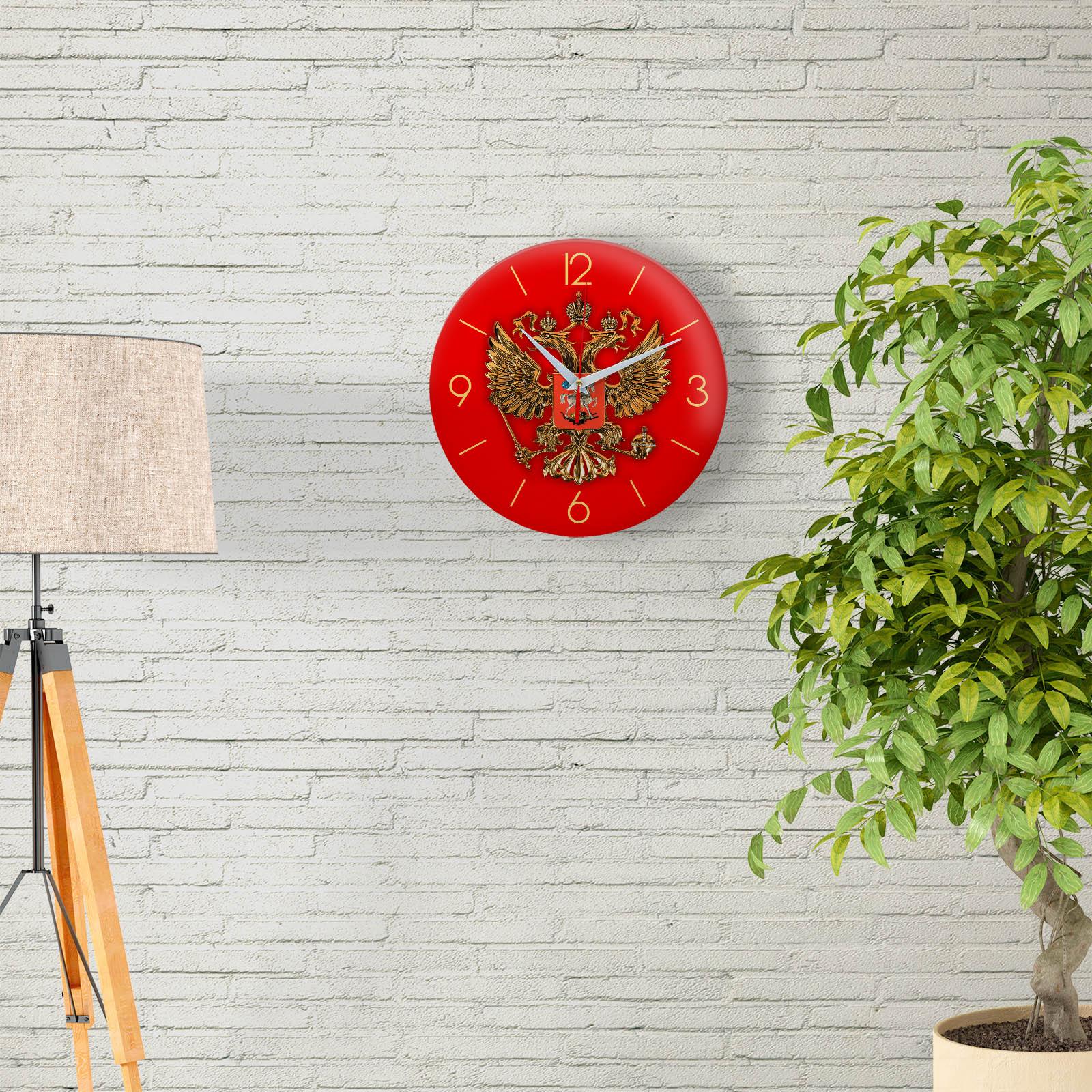 Часы настенные с двуглавым орлом