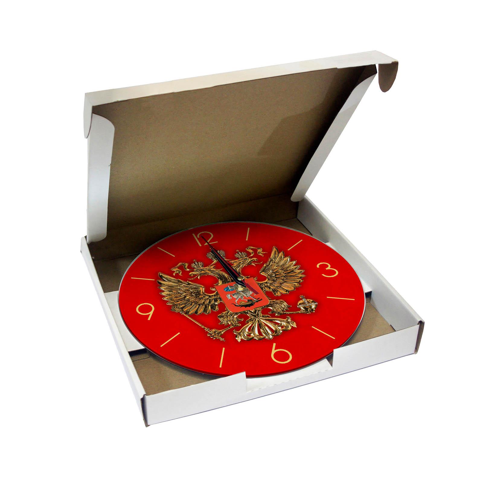 Герб России упаковка часов