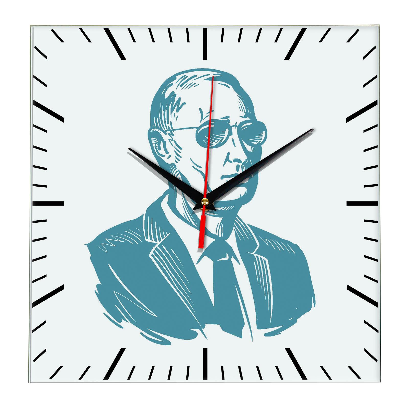 """часы с символикой """"России Герб Хохлома"""" (2)"""