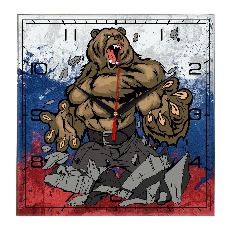 часы «Россия. Медведь. Всех порвем»