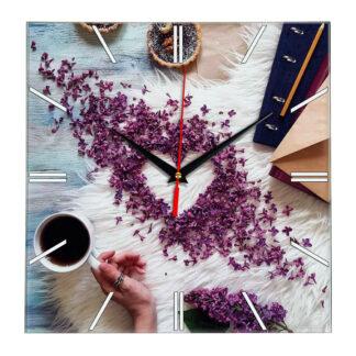 Настенные часы Кофе с любовью