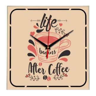 Настенные часы Lite After Coffee