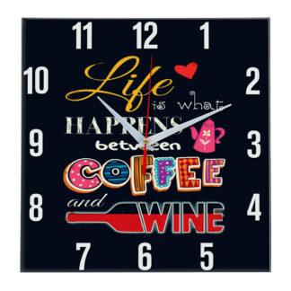 Настенные часы coffee 5_2