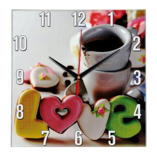 Настенные часы Кофе с печеньем