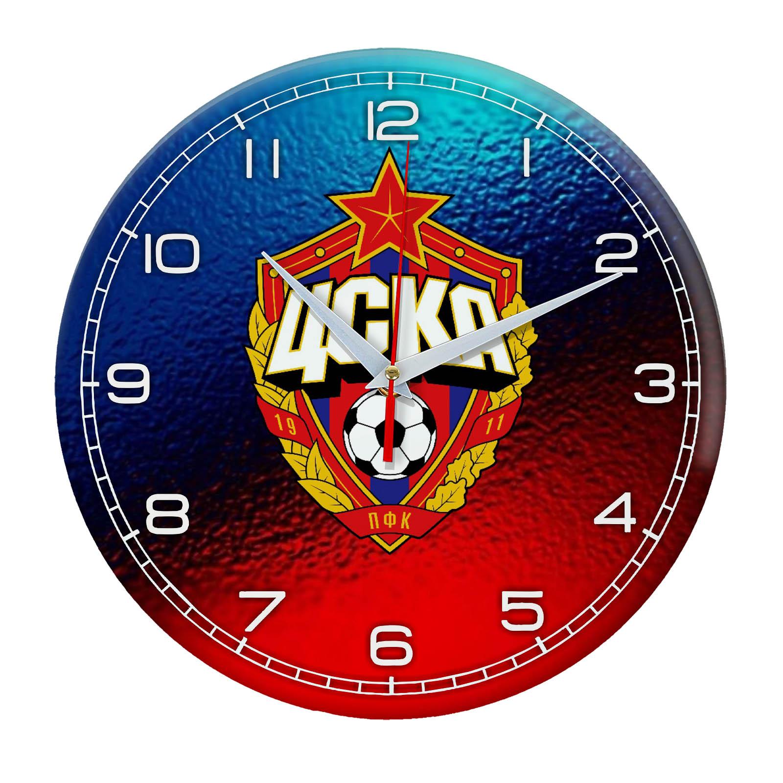 ЦСКА часы с логотипом футбольного клуба