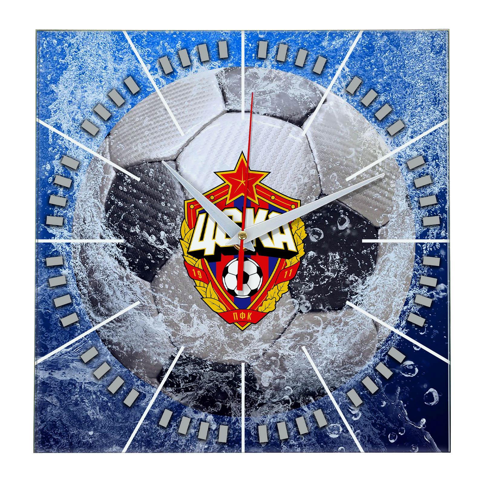 Настенные часы «Сувенир болельщиков CSKA»