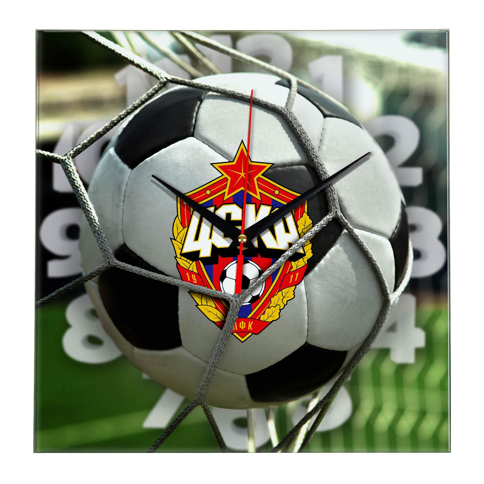 Настенные часы «С логотипом ЦСКА»