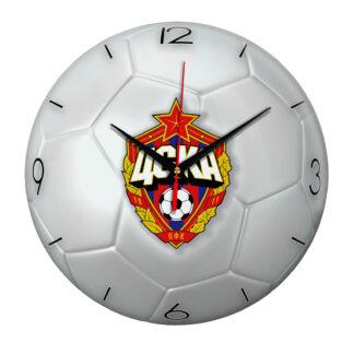 Настенные часы «Футбольный мяч CSKA»