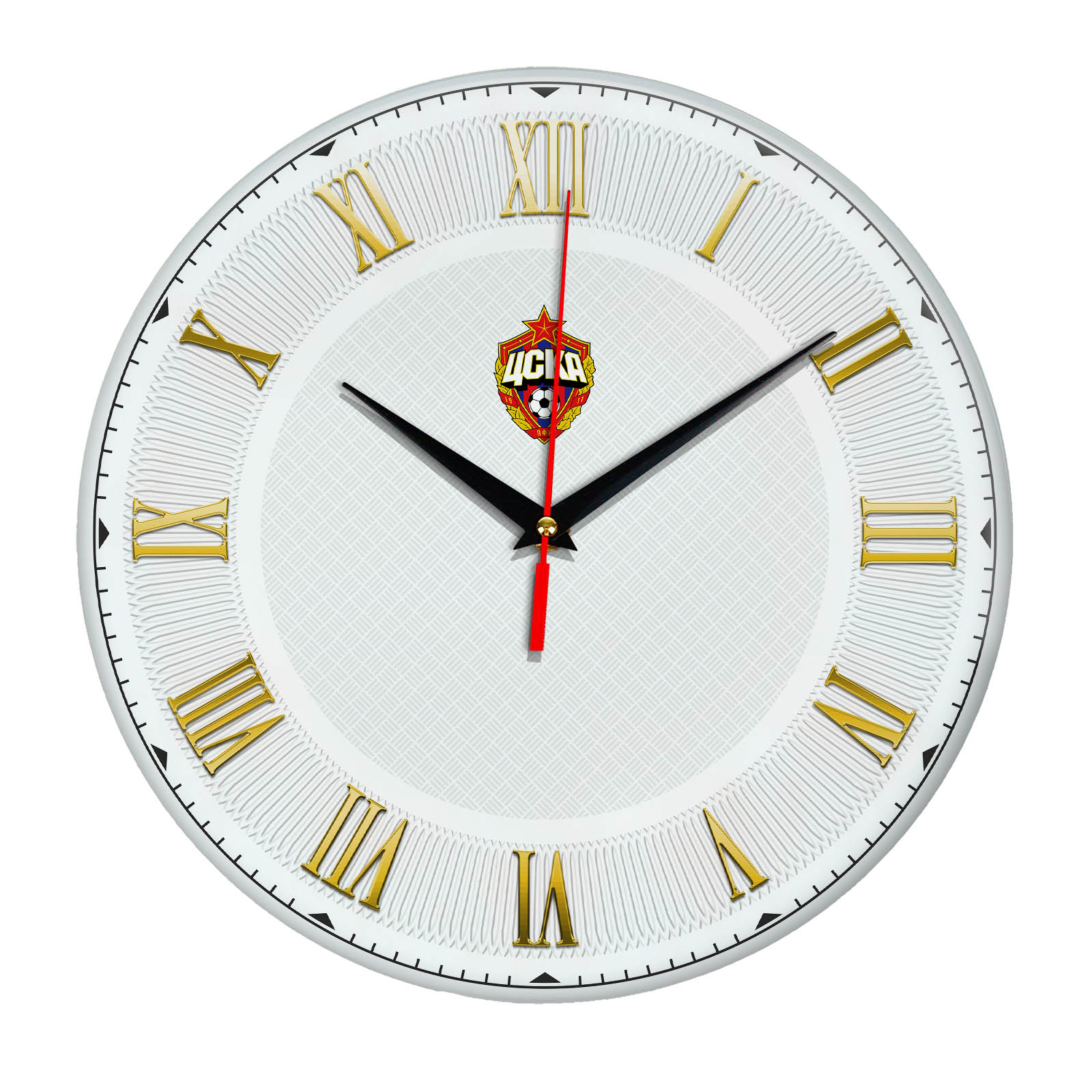 Настенные часы «Футбольный клуб CSKA»