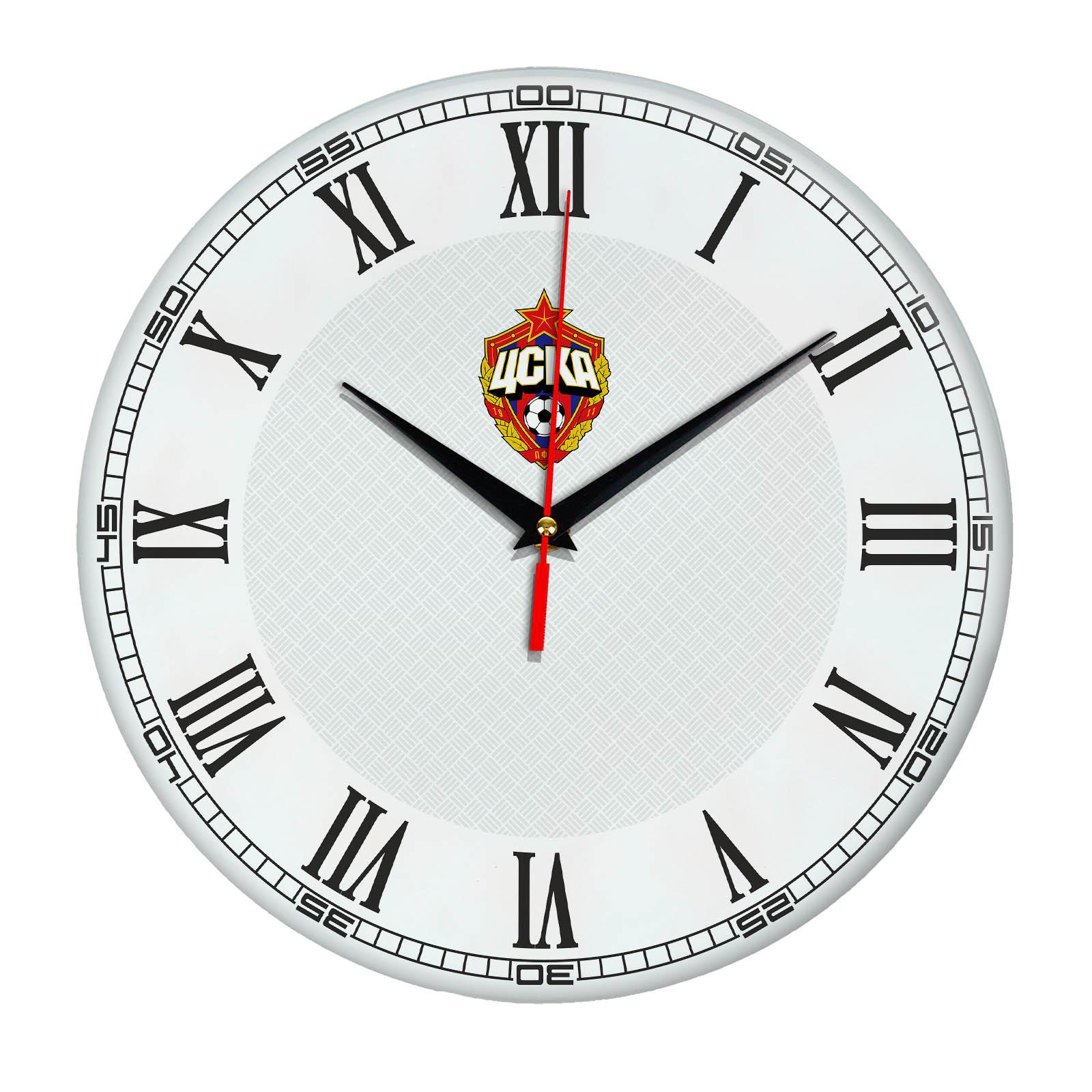 Настенные часы «с символикой CSKA»