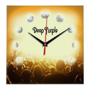 Deep purple настенные часы 12