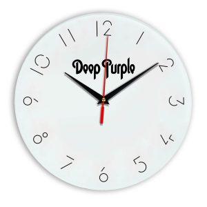 Deep purple настенные часы 5