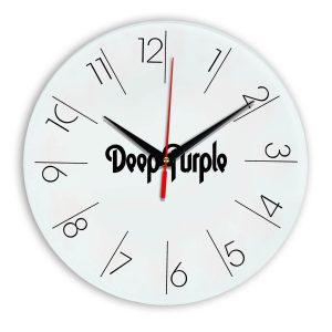 Deep purple настенные часы 6